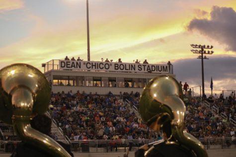 TR vs. Greer football game