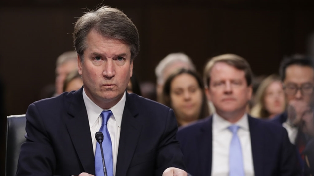Brett+Kavanaugh+answers+questions+during+the+Senate+confirmation+hearings