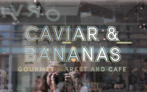Caviar & Bananas sign