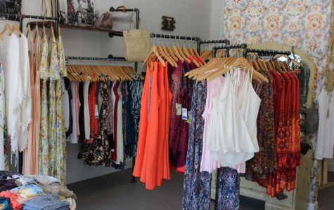 Clothing selection from Downtown Diva's