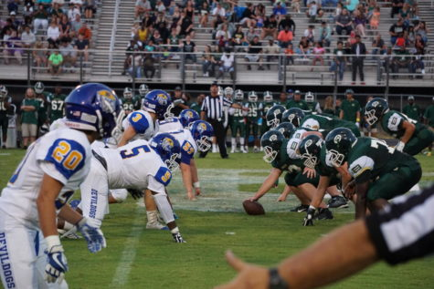 Football game vs Blue Ridge