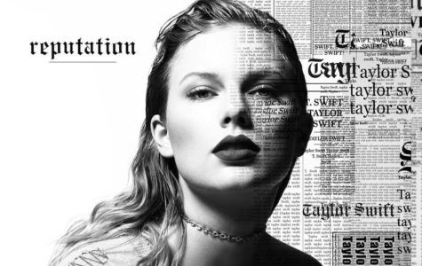 Taylor Swift's album cover,  Reputation