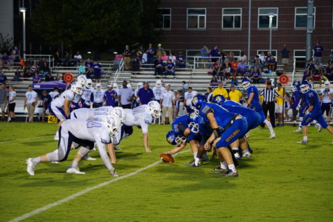 Football game vs Blue Ridge