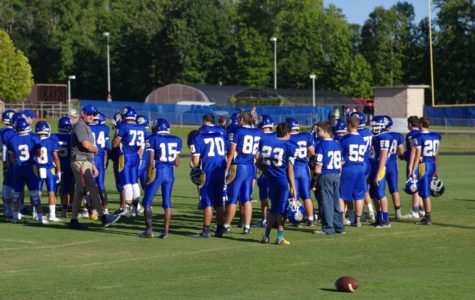 JV Football Wins Season Opener
