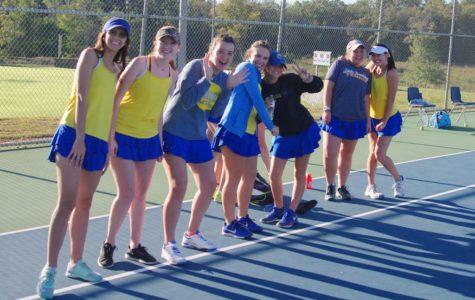 Tennis Seniors Acing Their Last Season