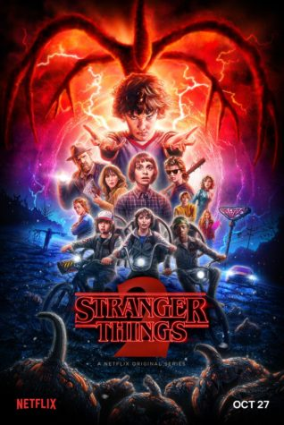 Stranger Things 2 poster for the season