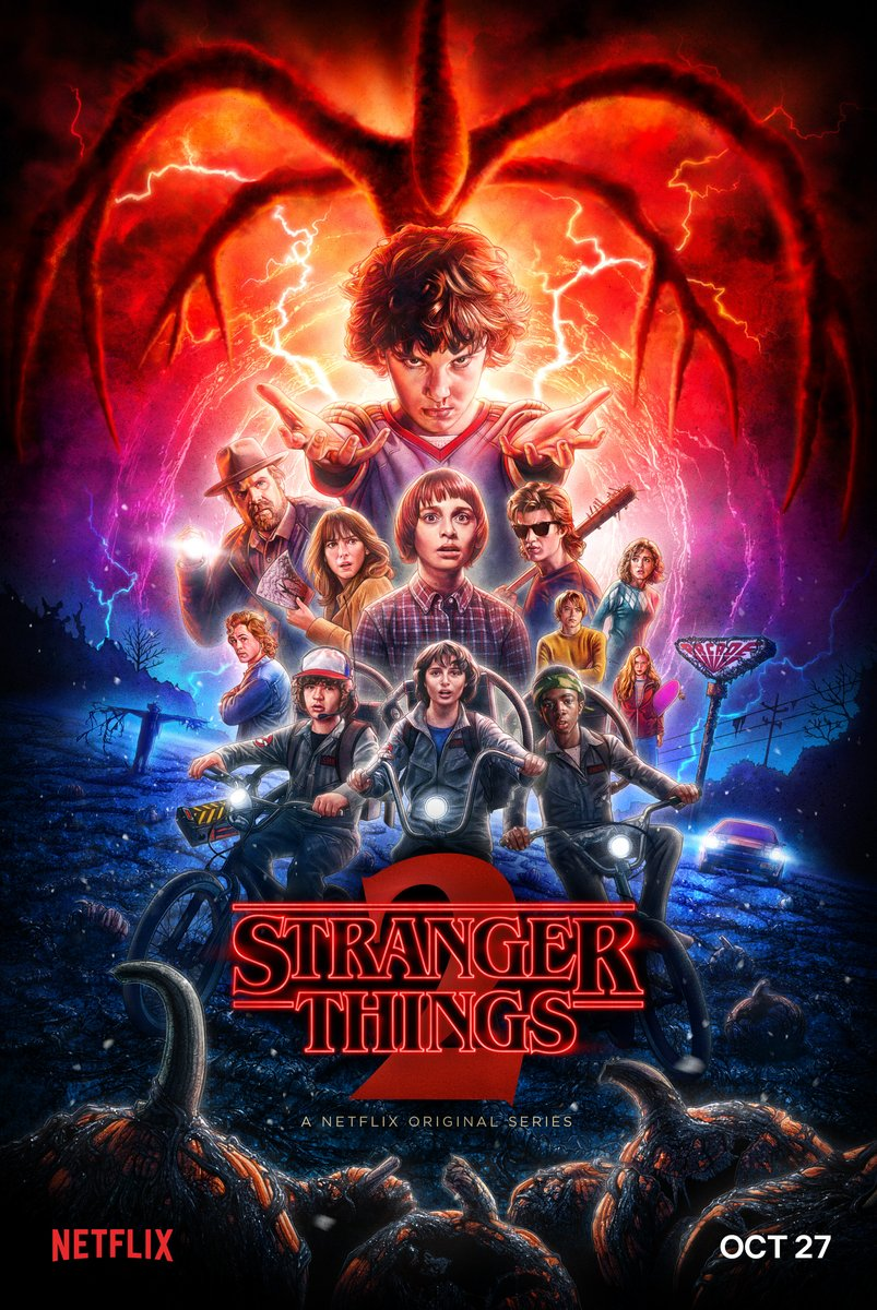 Stranger Things 2 poster for the season