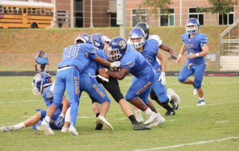 TR vs. Blue Ridge football game