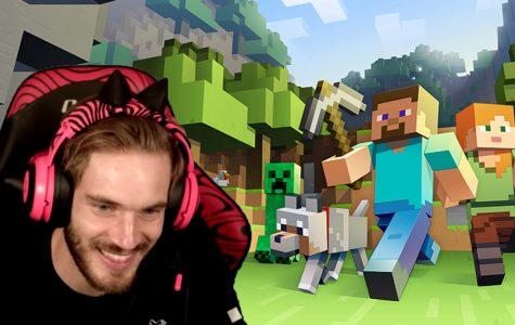 Pewdiepie's Minecraft series- photo credit to Felix Kjellberg