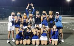 Girls Tennis Wins Region