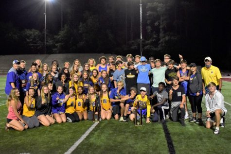 TR Boys and Girls Track and Field Teams Win Region!