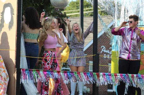 The Decades at TRs 2021 Homecoming Dance